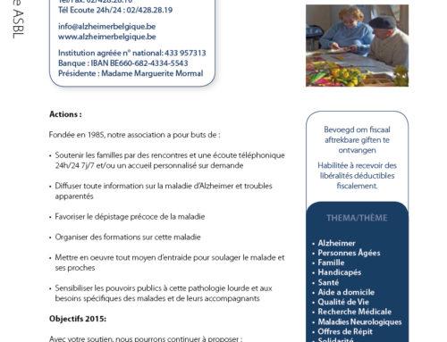 Alzheimer Belgique