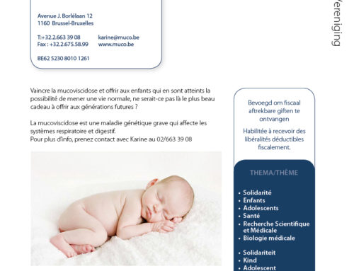 Association Belge de Lutte contre la Mucoviscidose ABSL