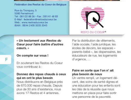 Fédération des Restos du coeur De Belgique asbl