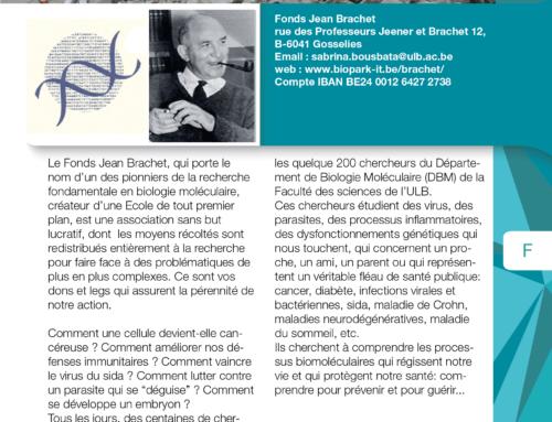 Fonds Jean Brachet
